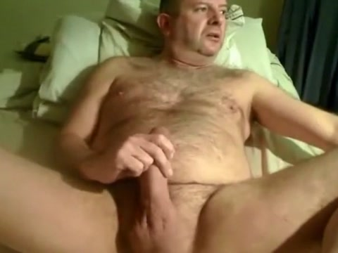 Another gorgeous daddy bear wanking old black men with big cocks