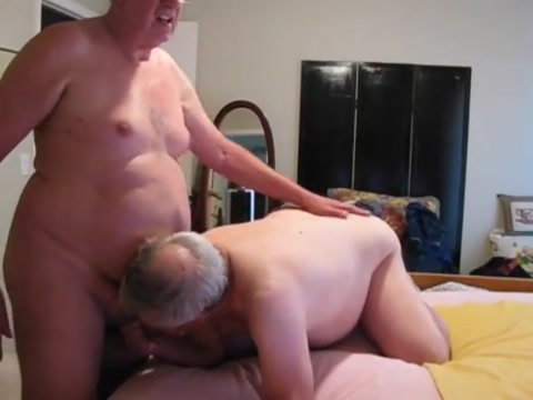 More sucking and jerking with the geezers Huge smoking fetish