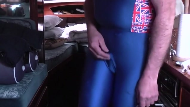 Piss in my lycra on my boat no toilet!!! Most extreme anal