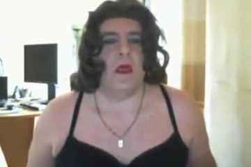 Magda the slut Webcam boob tease