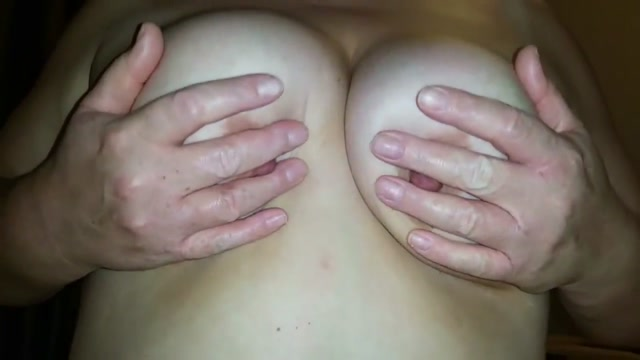 BLOWJOB AND PLAYING WITH TITS