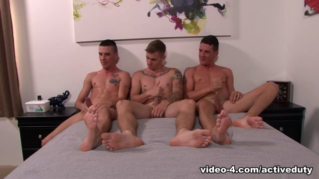 Ryan Jordan, Michael Stax & Jacob Stax Military Porn Video - ActiveDuty Sexy nude french women having sex