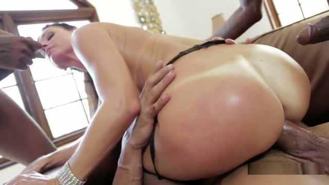 Petite brunette MILF India Summer takes her first gangbanging Big tits money
