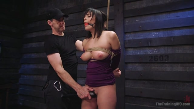 Big Tits, Tight Dress, High Heels: New Slave Training Violet Starr - TheTrainingofO emily scott nude tube