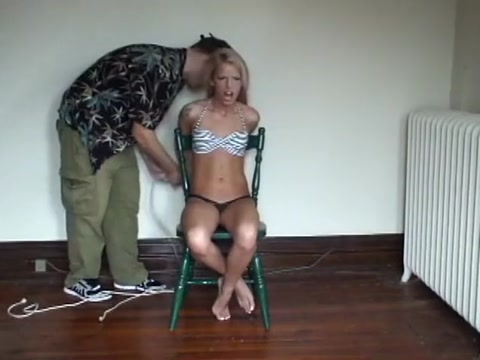 bella-mega-gagged-chair-tied Skinny milf gets her ass fucked