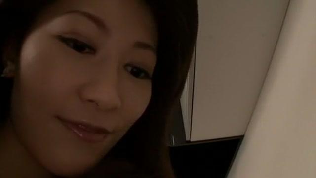 Horny Japanese model Aoki Misora in Crazy Solo Female JAV scene