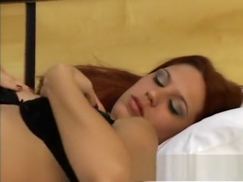 Horny redhead gets into a threesome and begs to get pleasure Free big black pussy com