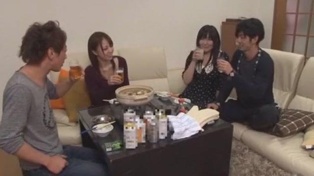 Amazing Japanese whore Ayane Okura, Aya Eikura in Best Couple, Small Tits JAV scene stories about men fucking goats