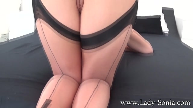Bending Over So He Can Shoot His Cum All Over His Aunts Bottom - LadySonia young girl in the tube