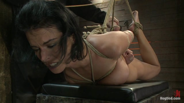 Massive Brutal Orgasms Mixed With Foot Torture, Screaming & Cumming, Non-Stop.Pain & Pleasure - HogTied Nude sexy workout
