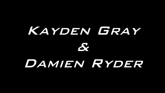 Kayden and Damien - BadPuppy Crossdresser riding dildo