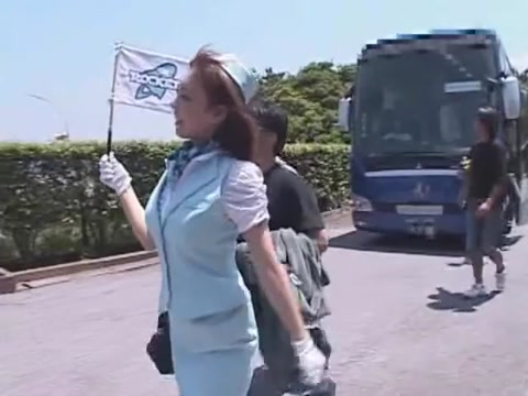 Incredible Japanese chick An Mashiro in Fabulous Outdoor, Big Tits JAV clip