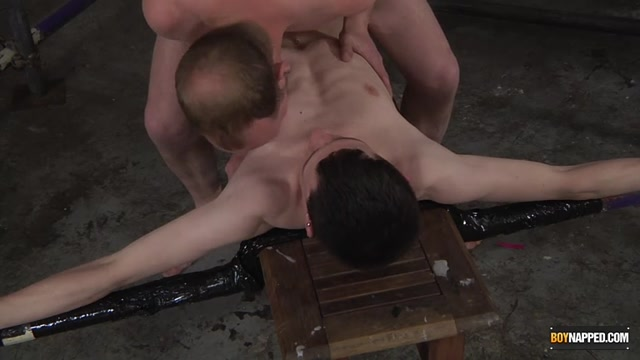 Wrapped Up & Wanked Off - Aaron Aurora & Sean Taylor - Boynapped A fucking cuckold lesson