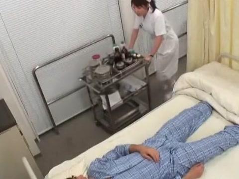 Best Japanese girl in Exotic Cunnilingus JAV movie Old slut gives