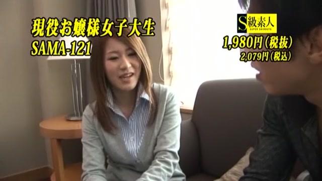 Incredible Japanese chick Kanna Harumi in Crazy Facial, Compilation JAV clip