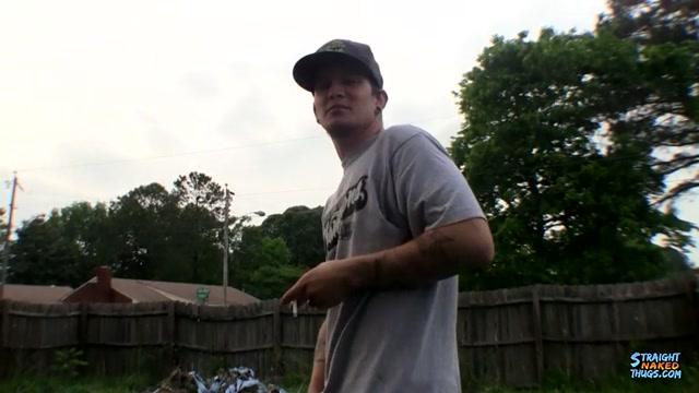 Rough Straight Jock Lex Busts A Nutt Outdoors - Lex Lane - StraightNakedThugs gay chubby chaser videos
