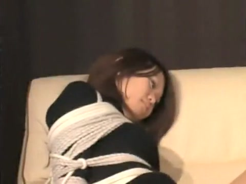 Asian babe tightly bound and tape gagged be the voice japanese