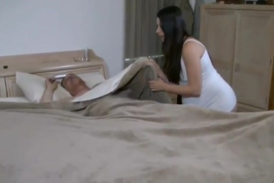 Odd couple Masturbation and pussy spanking