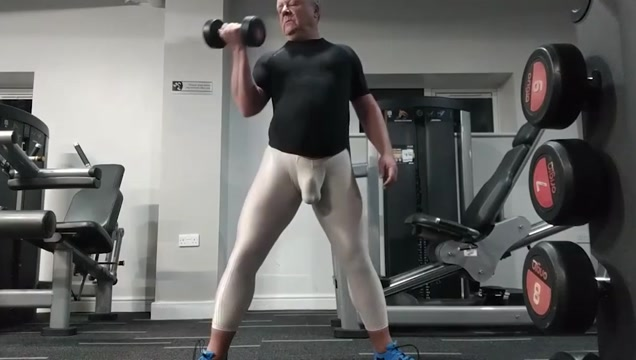 Arroyman at the gym homemade free tubes look excite and delight homemade
