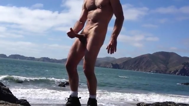 Jerking on the beach Dressed undressed fucked