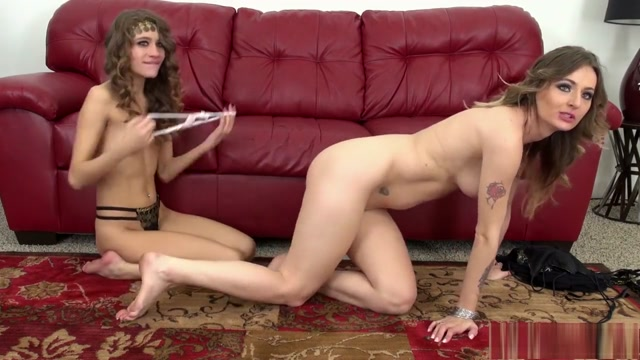 Two lesbian babes get together for some hot toying and pussy eating Iranian karma throat fucked