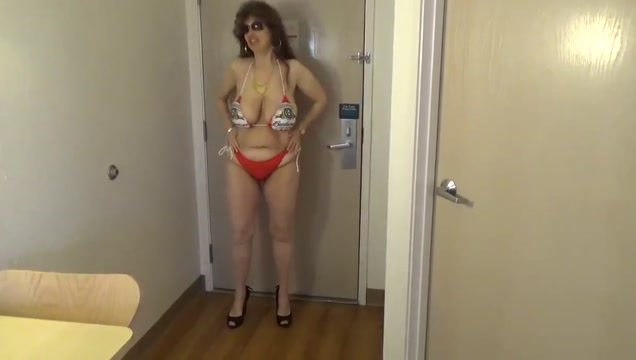 Tinja explodes from her bud bikini