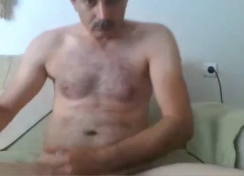 Arabian handsome daddy on webcam Swing my wife bbc