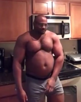 Muscle chub Fucking My Ebony Step Sis In Our Parents Bedroom