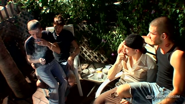 4-Way Smoke Orgy! - 4-Way Smoke Orgy! - Boys-Smoking xxxx sexi hoot images free