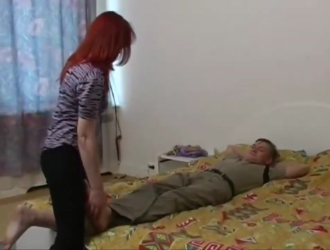 Irina fucks with stepson when her husband is not at home