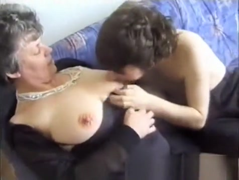 Skinny young dude goes for it with a busty granny and nails her Busty Italian Deuces Neighbor
