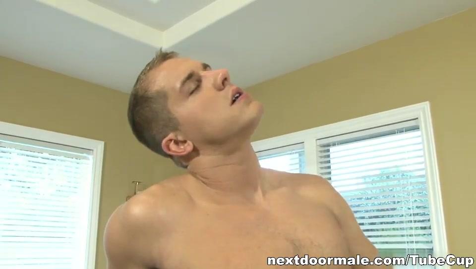 NextdoorMale Video: Brandon Lewis hot wet pussy creampies