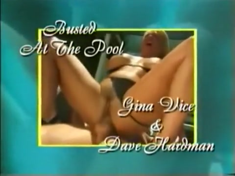 Gina Vice fucked anal by the pool Lucy pussy was on fire