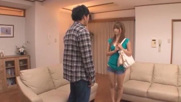 Horny Japanese slut Yua Yoshikawa in Amazing Threesome, Big Tits JAV scene Girls tied naked