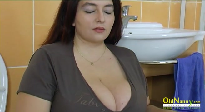 OldNannY Busty Mature Dana Hardcore Chubby Women Giving