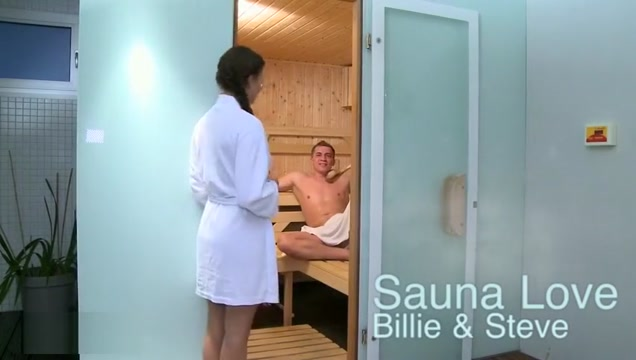 Billie and Steve - Sauna Love 40b breast size photos