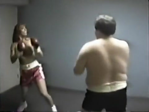 Mixed boxing with April free lesbian soft porn