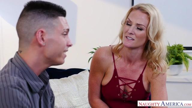 Sydney Hail & Tyler Steel in MyFriendsHotMom Sexy milf xxx movie online