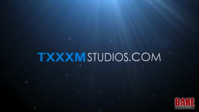 Sharing The Raw Fuck Slave - Cameron James, Sean Taylor & Sebastian Kane - TXXXMStudios Skinny brunette milf creampie