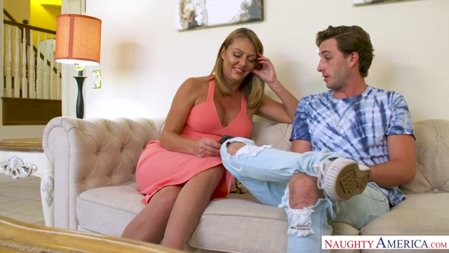 Brenda James & Lucas Frost in MyFriendsHotMom Booty butt free naked picture
