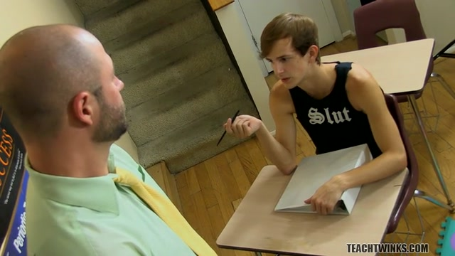 Hardcore Lesson For Bad Boy Jasper - David Chase And Jasper Robinson - TeachTwinks bi dildo girl lesbian sharing their