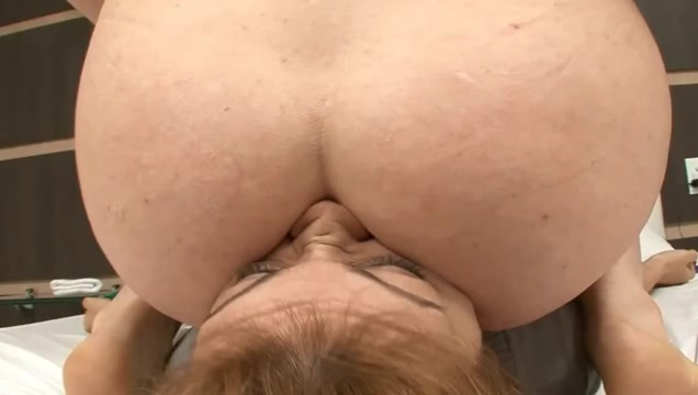 Lesbian farting butthole wiper
