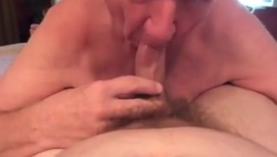Grandpa blowjob series - 6 Mature cunt wiht sexy lips! amateur!