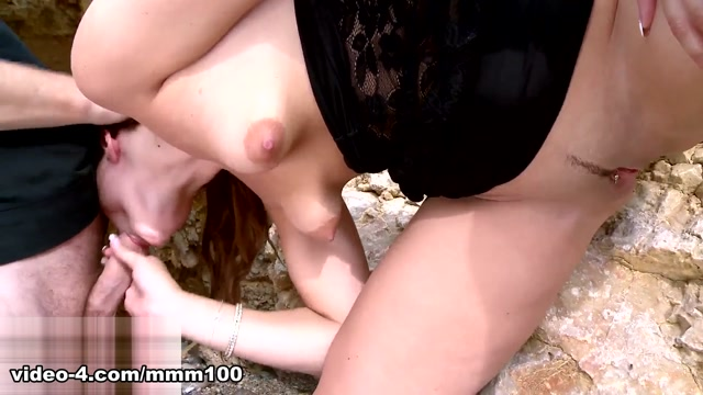 Emy Russo & Terry in Black Lace In A Secret Cave - MMM100 Best busoms