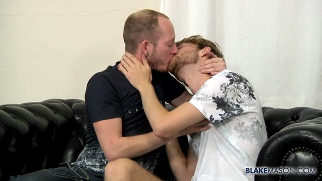 New Lad Gets A Long Cock Up Him - Sean Taylor James Rider - BlakeMason Mature lady teacher fucks student