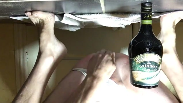 New Bailey Bottle in ass lesbian anal strap on gifs
