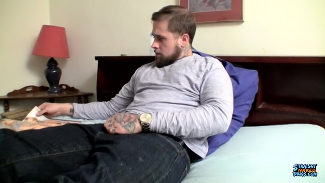 Cumming Over A Porn Mag - Jacque Gosling - StraightNakedThugs Best gape in porn
