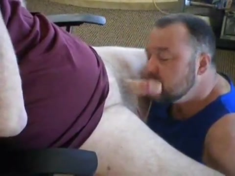 Daddy and Grandpa BlowJob vegas gay porn threesome