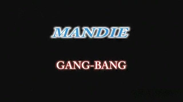 MSTX - MANDIE GANG BANG Asian Big Tits Getting Fucked