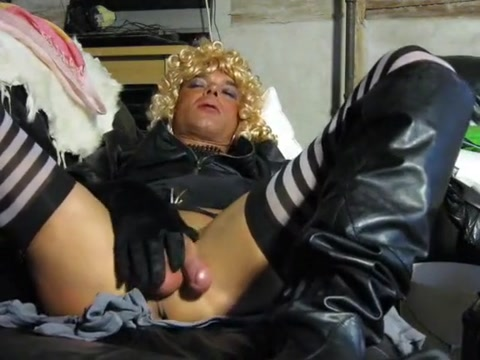 Slutty blonde masturbates with gloves and vibrators Bigbutt lesbos asstoying in compilation video